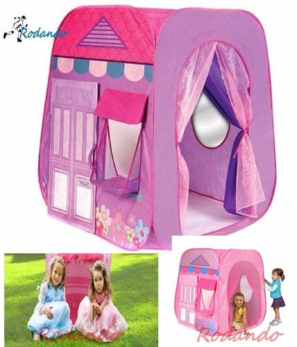 carpa/ casita para niñas rosado y lila/facil armado¡¡nuevo!!