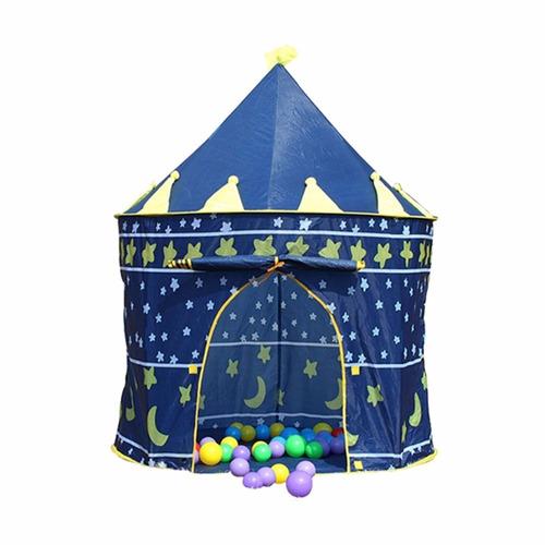 carpa castillo casita armable niños niñas azul rosado envios
