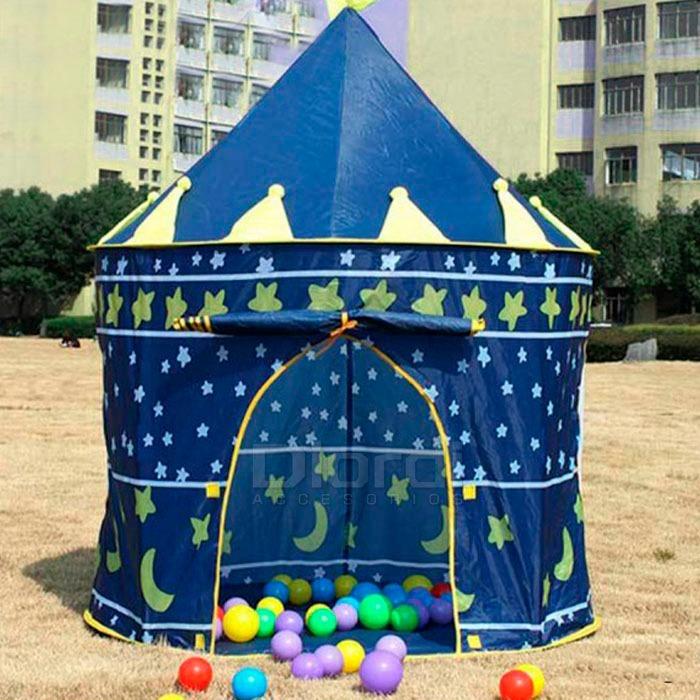 Carpa Castillo Para Ninos Juegos En Casa Campo Aire Libre