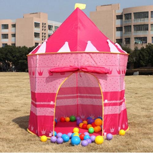carpa castillo princesa niña niño camping casa +obsequio