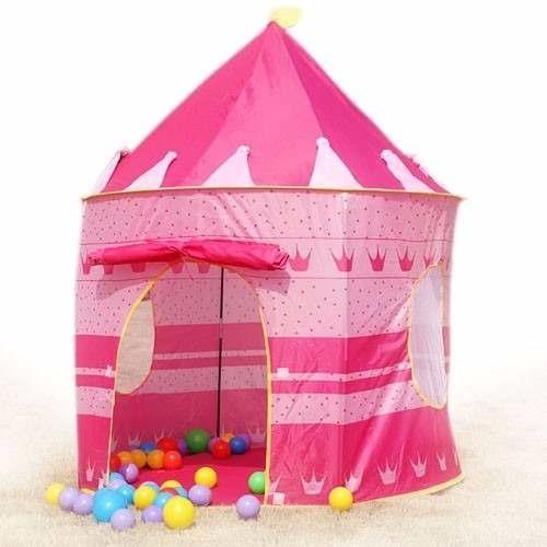 Carpa castillo princesa ni a ni o camping casa obsequio en mercado libre - Casitas de princesas ...