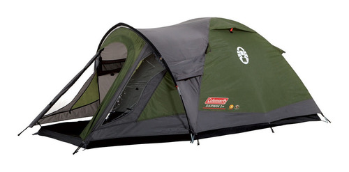 carpa coleman darwin 2+ personas impermeable camping y playa