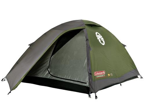 carpa coleman darwin 3 iglu para 3 personas camping 3000