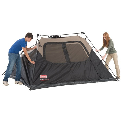 carpa coleman instant tent 6 personas