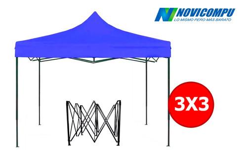 carpa de 3x3 metro impermeable estructura reforzada plegable