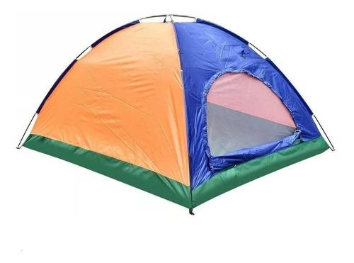 carpa de camping plegable 3 personas + bolso