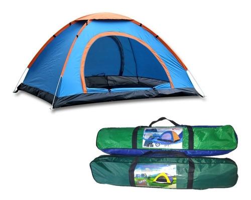 carpa de camping plegable automática 2/3/4 personas + bolso