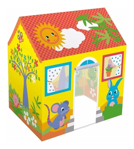 carpa de juego para niños bestway forma casita