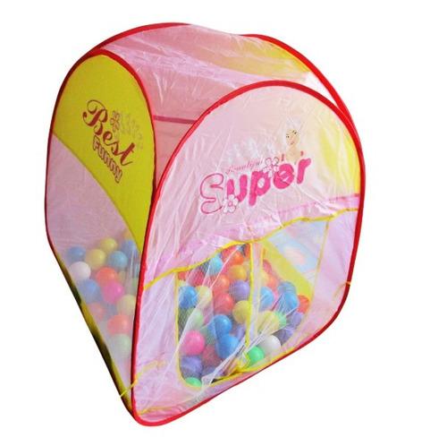carpa de muñecas plegable con 150 pelotas de colores