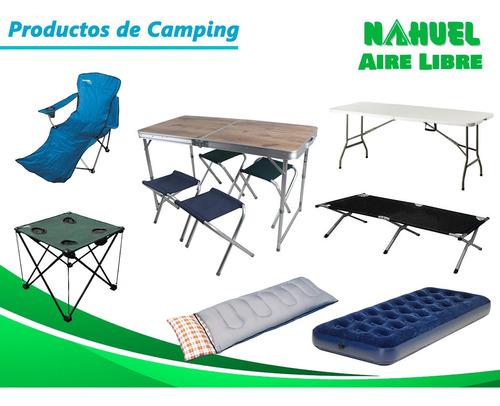 carpa de playa iglu tapa aluminizado chica nahuel camping