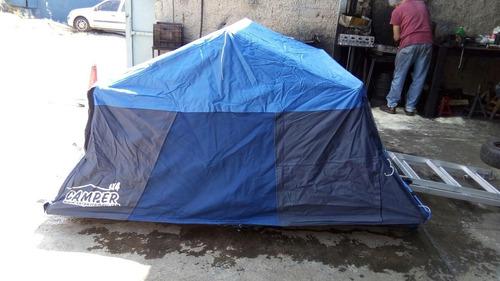 Carpa de techo camper 4x4 manga aire acond y vestier for Carpas 4x4 precios
