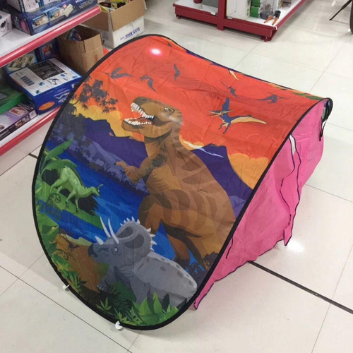 carpa dream tents dinosaurio