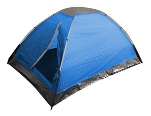 carpa easycamp 2 personas + colchón inflable 2 plazas nueva
