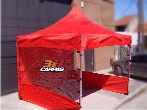 carpa gazebo plegable 3h 3x3 aluminio bolso techo y paredes