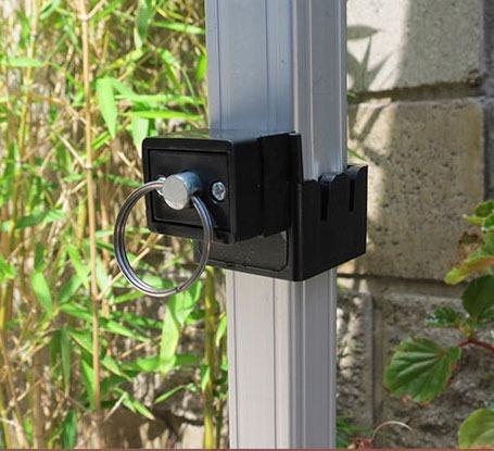 carpa gazebo plegable automatico aluminio 3x3 +bolso+estacas