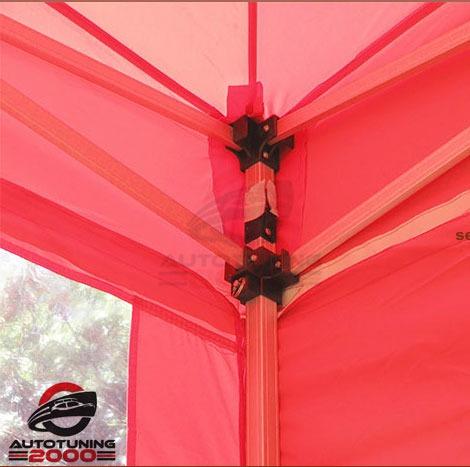 carpa gazebo plegable automatico aluminio 3x3 techo paredes