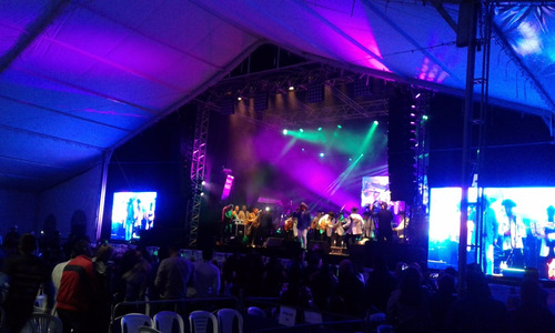 carpa gigante para conciertos