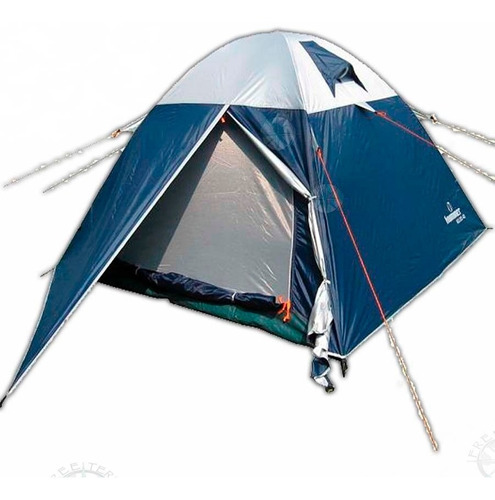 carpa hummer  impermeable igloo 4d de 3 personas c/bolso°