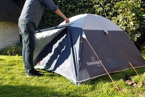 carpa igloo 3+ impermeable hummer para 2 personas palermo°