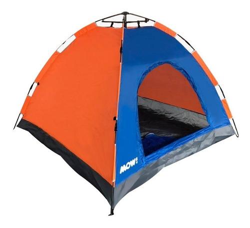 carpa iglu 4 pers automatica camping autoarmable impermeable