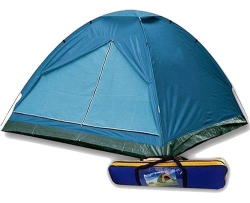 carpa iglu 4 personas impermeable camping playa reforzada