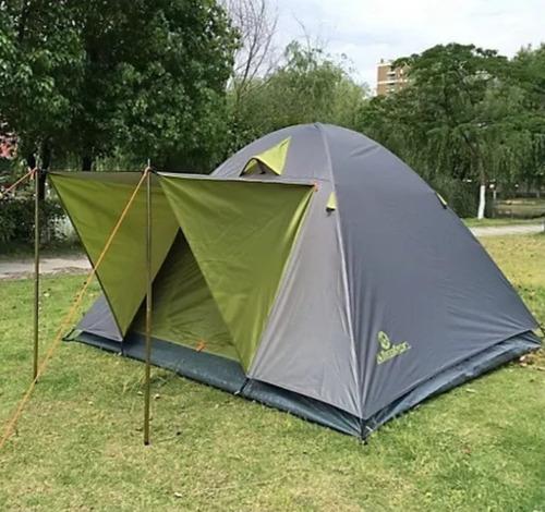 carpa iglú 4 personas klimber camping montaña lluvia rupac
