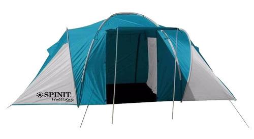 carpa iglu camping spinit holiday 6 personas + comedor