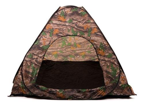 carpa iglu plegable autoarmable automática camuflada camping