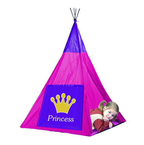 carpa india princesas infantil castillo iplay 8740  pc