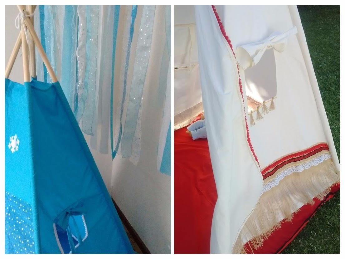 new products 3de65 bb423 Carpa India Tipi Teepe Tematica! Moana Frozen