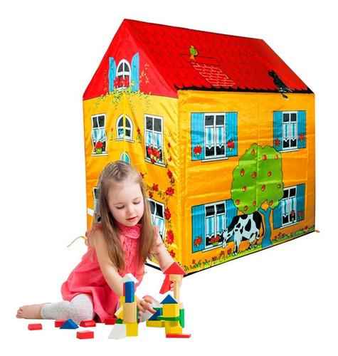 carpa infantil casita para niños increible hasta 8 años