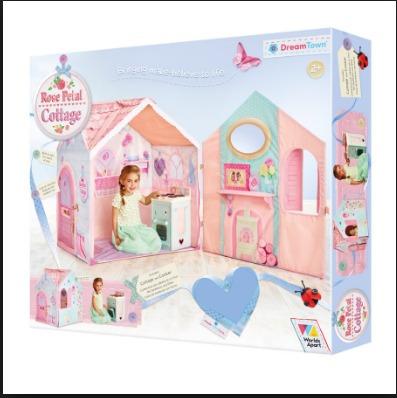 carpa infantil dream town rose petal cottage