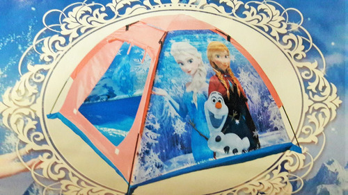 carpa infantil niñas frozen princesas reino hielo *