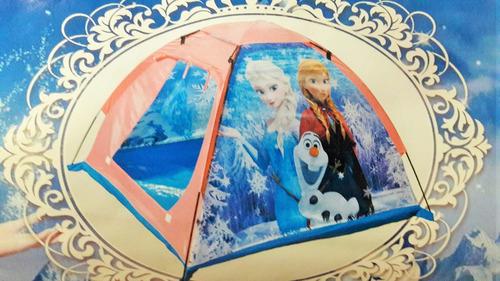 carpa infantil niñas frozen princesas reino hielo