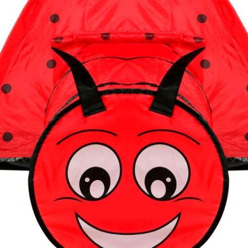 carpa infantil para juegos pijamada vaquita de san antonio