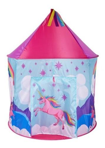 carpa infantil unicornio/carpa niña plegable