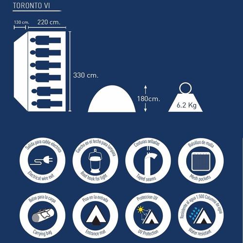 carpa national geographic personas iglu camping