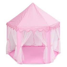 Carpa Navideña Grande Diseño De Castillo Para Niños, Rosa