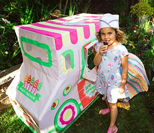 carpa pacific play tents kids cotton canvas ice cream carpa