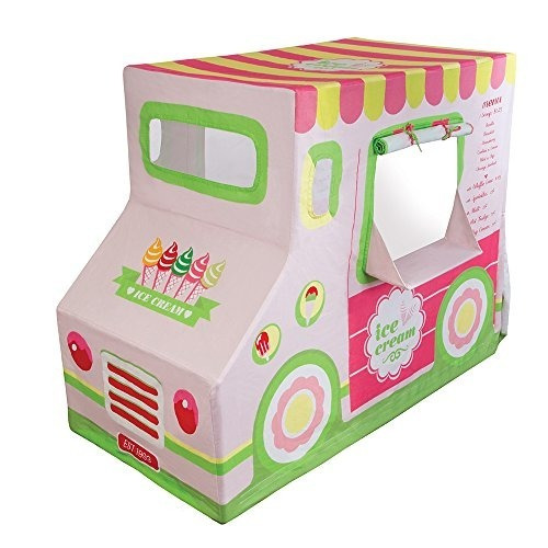 carpa pacific play tents kids cotton canvas ice cream truck