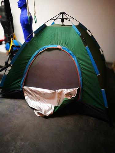 carpa para acampar armado facil