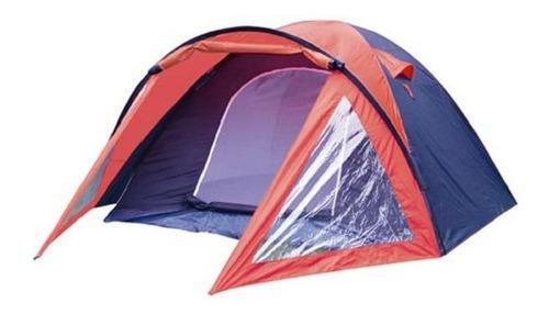 carpa para camping 4 personas con techo aluminizado igloo