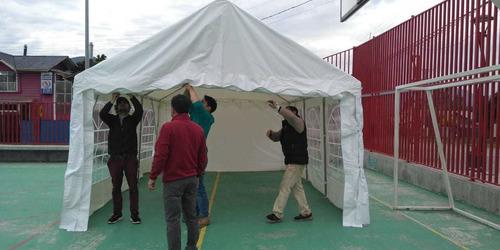 carpa para eventos 6 x 4 metros