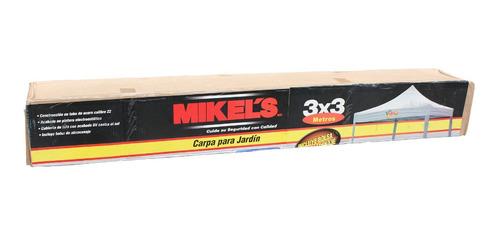carpa para jardin mikels 3m x 3m proteccion uv cpj-330