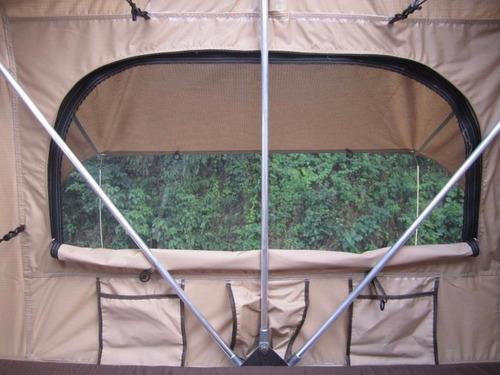 carpa para techo 300x145x130cm con alero incluido