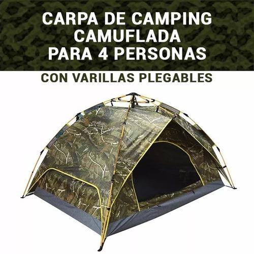 carpa personas camping carpa carpa