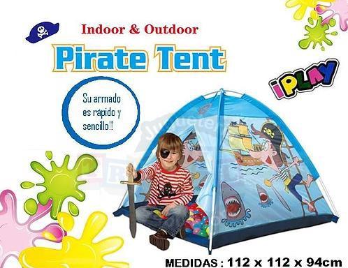 carpa pirata infantil niños tela resistente tribilinbb
