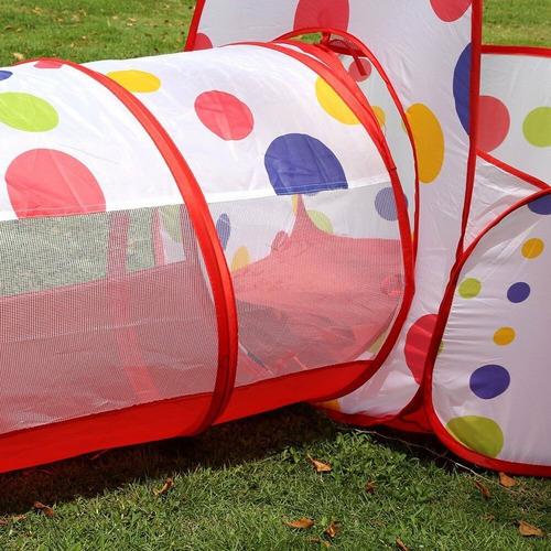 carpa piscina casa túnel infantil niños 42715  / fernapet