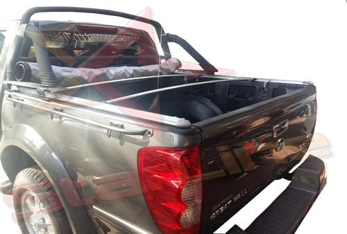 carpa plana chevrolet dmax lona enrollable camioneta platon