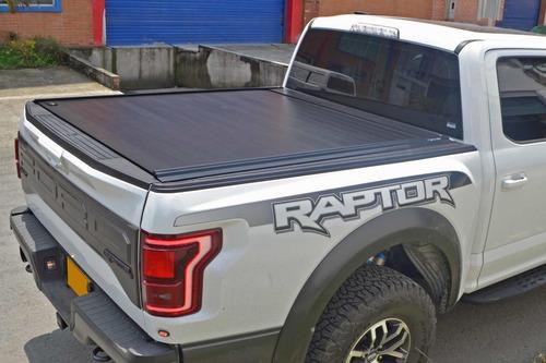 carpa plana retráctil platino ford f-150 lariat o raptor